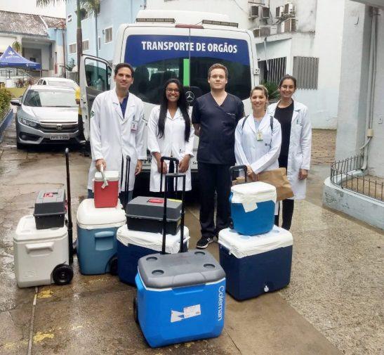 Órgãos captados na Santa Casa vão ajudar a salvar 5 pessoas