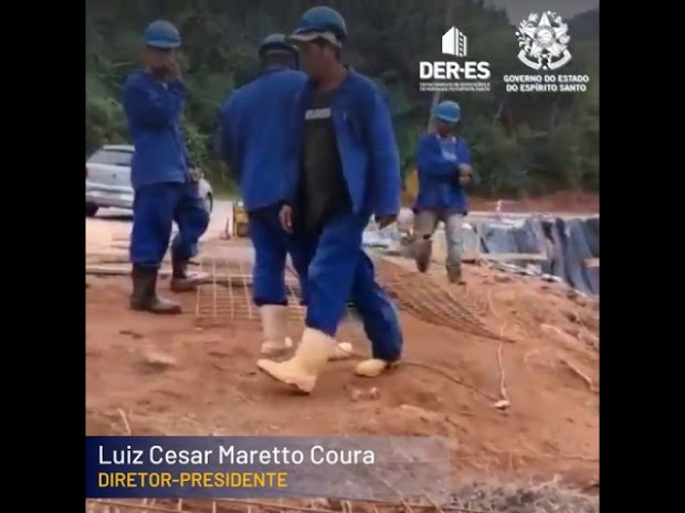 DER explica recuperação de rodovia que liga Vargem Alta a Iconha