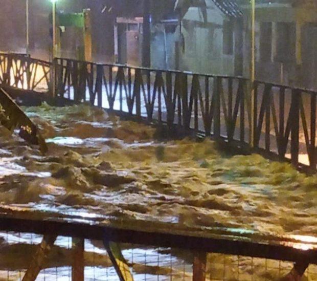 Chuvas no ES: Rio Novo do Sul registra quase 200mm em 24h
