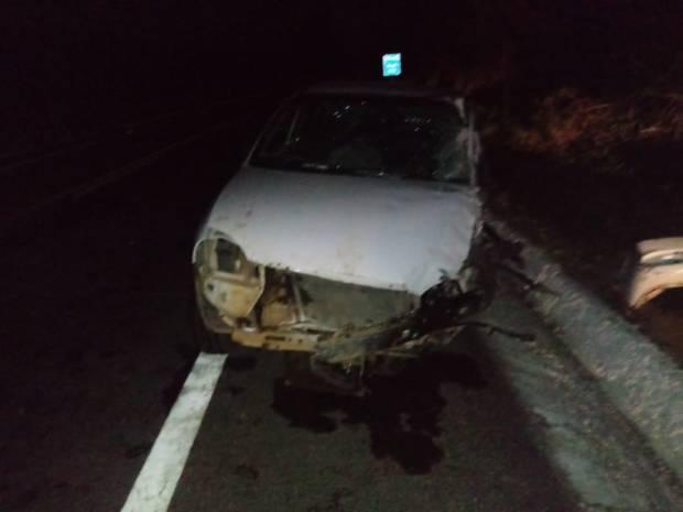 Acidente entre dois veículos deixa cinco feridos em rodovia de Guaçuí