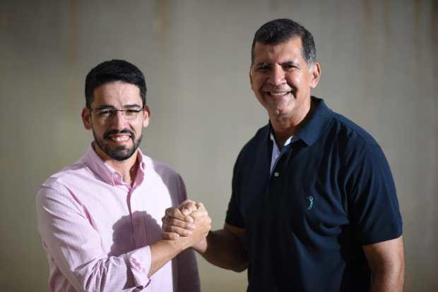 Ruy Guedes é o vice do prefeito Victor Coelho na disputa a reeleição