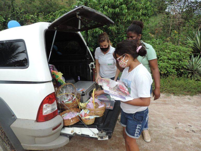Delivery de livros incentiva a leitura em Rio Novo do Sul