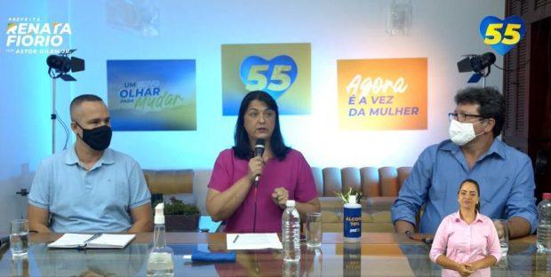 Renata Fiório participa de debate com profissionais da educação