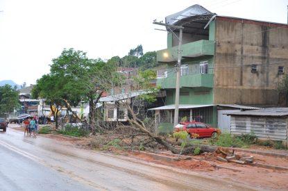 Temporal em Guaçuí 7