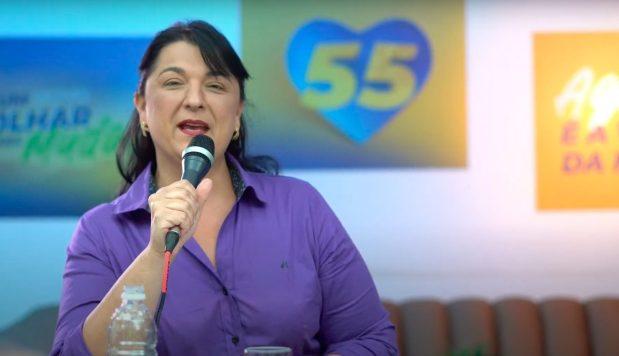 Em live, Renata Fiório fala sobre projetos para Saúde e Samu em Cachoeiro