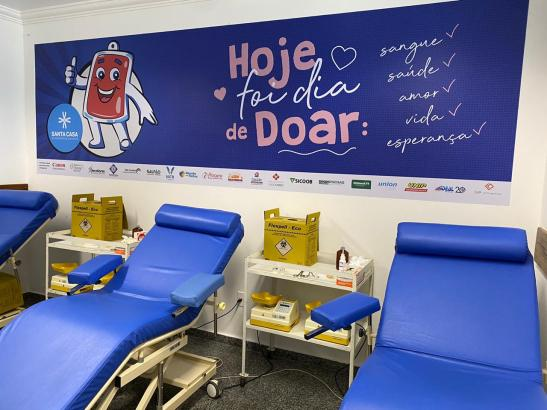 Com estoque baixo, Santa Casa realizará semana do doador de sangue
