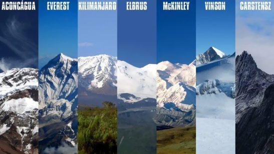 Sobre homens e montanhas: Projeto 7 Cumes