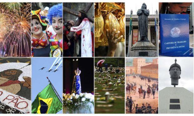 Ano Novo terá três feriados nacionais prolongados. Confira as datas