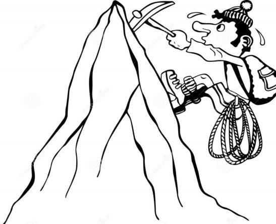 Sobre homens e montanhas: se tornando um montanhista (humor)