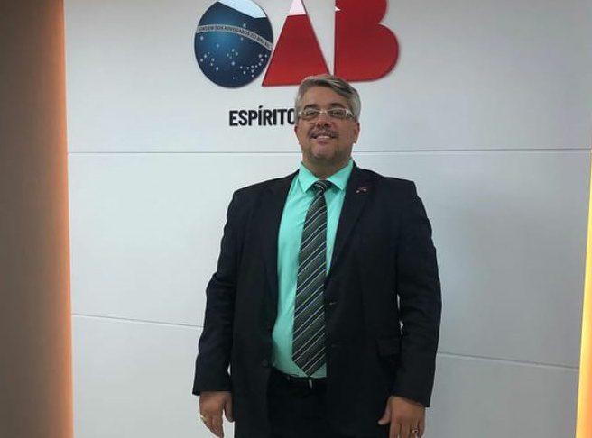 OAB-ES decreta luto após morte de advogado cachoeirense por Covid-19