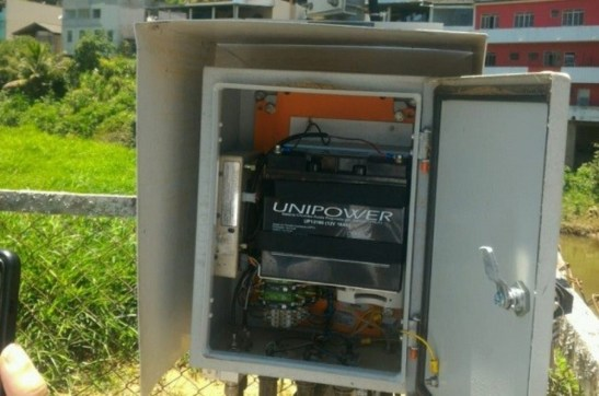 Estação que monitora água volta a medir chuva e vazão em Ibitirama