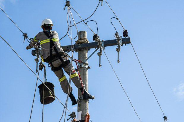 Pipas deixaram mais de 450 mil residências sem energia em 2020