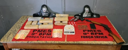Operação da PM em Cachoeiro, Castelo e Atílio Vivácqua prende 14