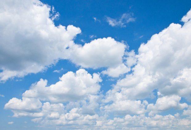 Domingo com sol entre nuvens e chuva fraca para a região Sul