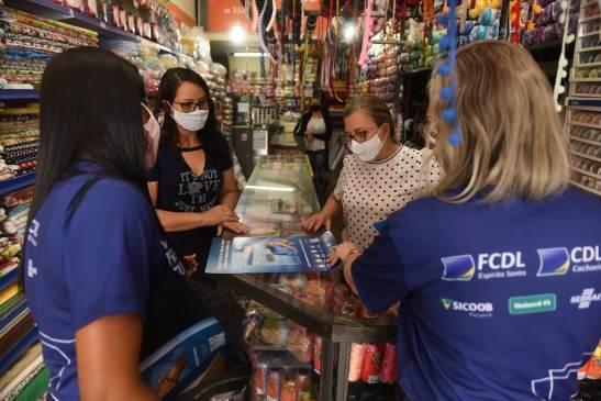 FCDL inicia mobilização em prevenção à Covid-19 no comércio capixaba