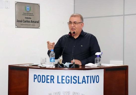 Secretário de Fazenda presta esclarecimentos a vereadores sobre valores do IPTU