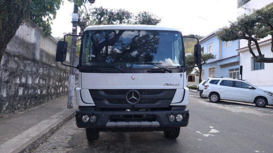 Acusados de roubo de caminhão são presos em Alegre
