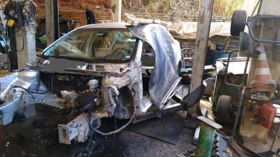 Polícia estoura oficina de desmanche de veículos e recupera mais de 200 motores