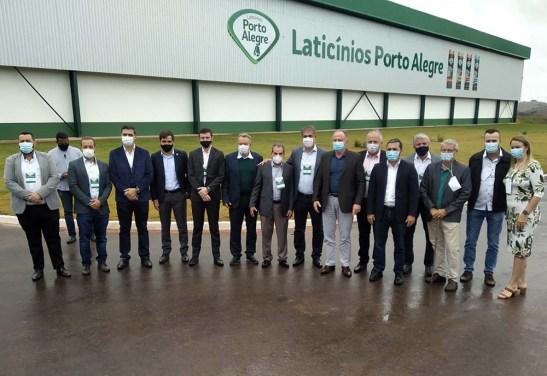 Laticínios Porto Alegre inaugura fábrica em Rio Novo e abre 100 vagas de emprego