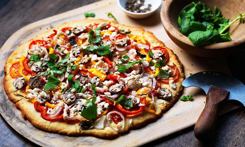 Roasted Vegetable Pizza Diabetes Uk