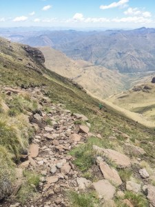 Diabetes Adventure: Downhill on the Lesotho Ultra Trail