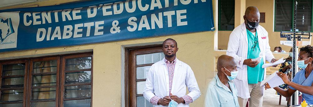 Centre d'education diabete et sante in Kinshasa