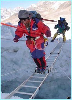 Tamae Watanabe climbs Mt. Everest successfully at age 63. Photo:http://news.bbc.co.uk