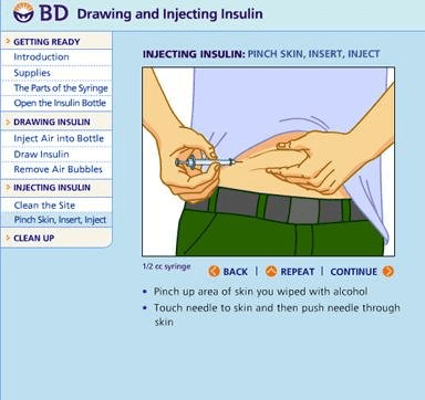 What Angle Do You Give An Insulin Injection ...