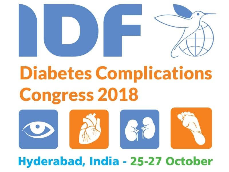 Logo of the IDF Diabetes Complications Congress 2018