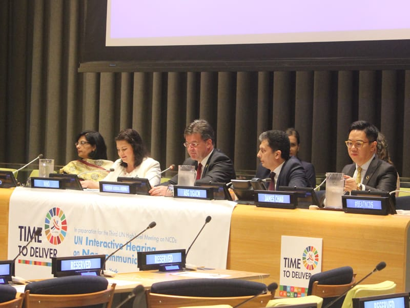 UN interactive civil society hearing