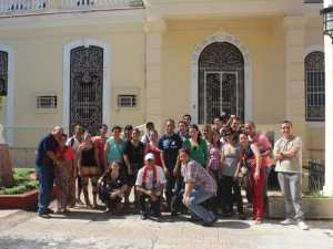 Project activity in Cuba