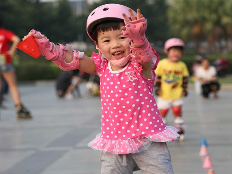 Zeng Xifeng's daughter today at 6 years old