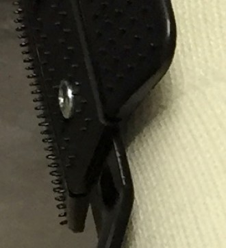 Spikes on the Bohler's iron engage the cast