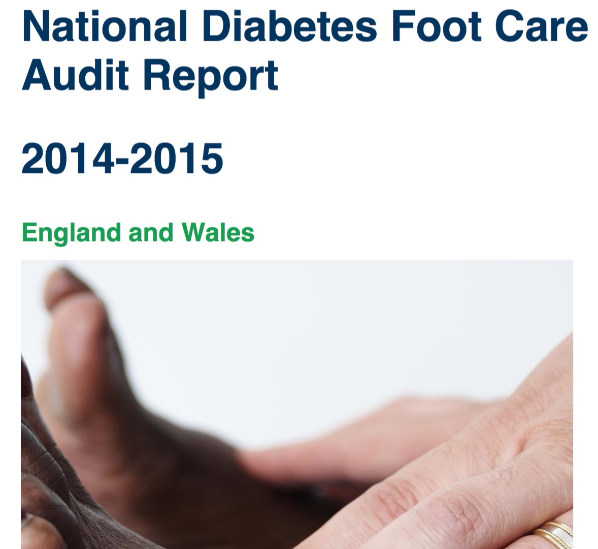 The National Diabetic Foot Audit Report