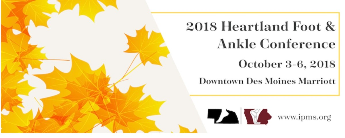 Heartland Foot and Ankle Conference: Here are your lectures! @IowaPodiatry #ToeandFlow #ActAgainstAmputation