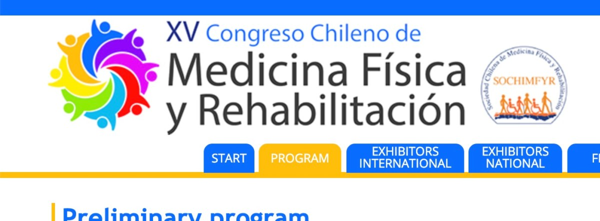 Attending the Chilean National Congress on Physical Medicine and Rehabilitation (or not)?  Here are your lectures! #ActAgainstAmputation #ToeandFlow @apma
