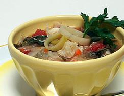 Ten Vegetable Soup recipe - Diabetic Gourmet Magazine - DiabeticGourmet.com