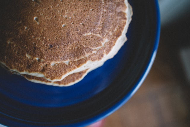 Fluffy High-Fiber, Low-Fat Pancakes Recipe Photo - Diabetic Gourmet Magazine Recipes