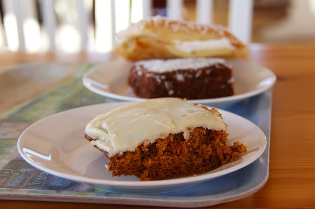Carrot Cake with Cream Cheese Frosting Recipe Photo - Diabetic Gourmet Magazine Recipes