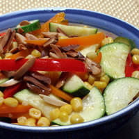 Vegetable Dishes Brighten Summer Menus