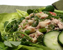 Tuna Salad with a Springtime Twist