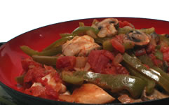 Quick and Easy Chicken Cacciatore Recipe Photo - Diabetic Gourmet Magazine Recipes