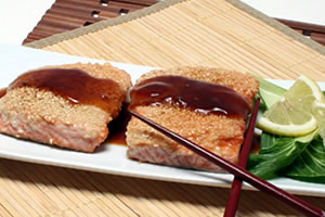 Sesame Salmon Puts Color and Nutritional Goodness on Your Plate