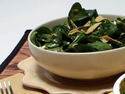 The Infinite Possibilities of Spinach Salad