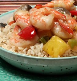 A Summery Shrimp Stir-Fry