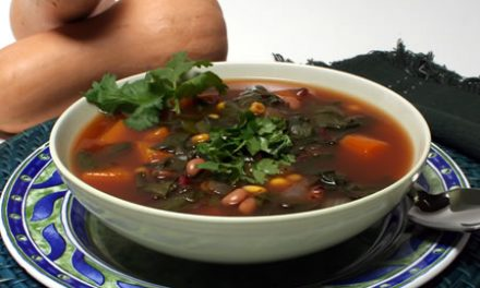 Revamped Southwestern Bean Soup