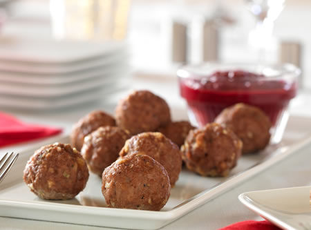 Diabetic christmas recipes diabetic gourmet magazine meatball appetizer recipes that are low carb and diabetic friendly forumfinder Images