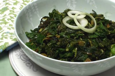 Take an Indian Adventure with Spicy Greens