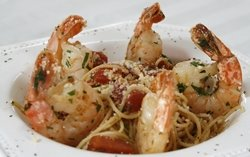 Angel Hair With Spicy Shrimp Recipe Photo - Diabetic Gourmet Magazine Recipes