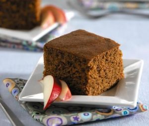 Applesauce Cake recipe photo from the Diabetic Gourmet Magazine diabetic recipes archive.